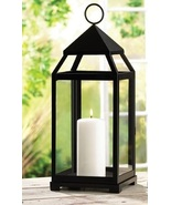 Large Contemporary Pillar Candle Lantern - $33.00