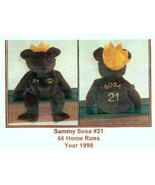 SAMMY SOSA, HOME RUN KINGS Bammer Bear from Sal... - $8.81