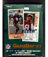 GameDay NFL Football 1993 Factory Sealed Hobby ... - $65.65