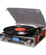 Crosley CR6007A Tech Turntable USB SD Record Player New