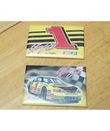 Set of Two 2001 NASCAR #1 Monte Carlo Steve Park Magnets