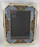 Enamel & Crystal 5x7 Picture Frame - Belle Maison - NIB - $12.00
