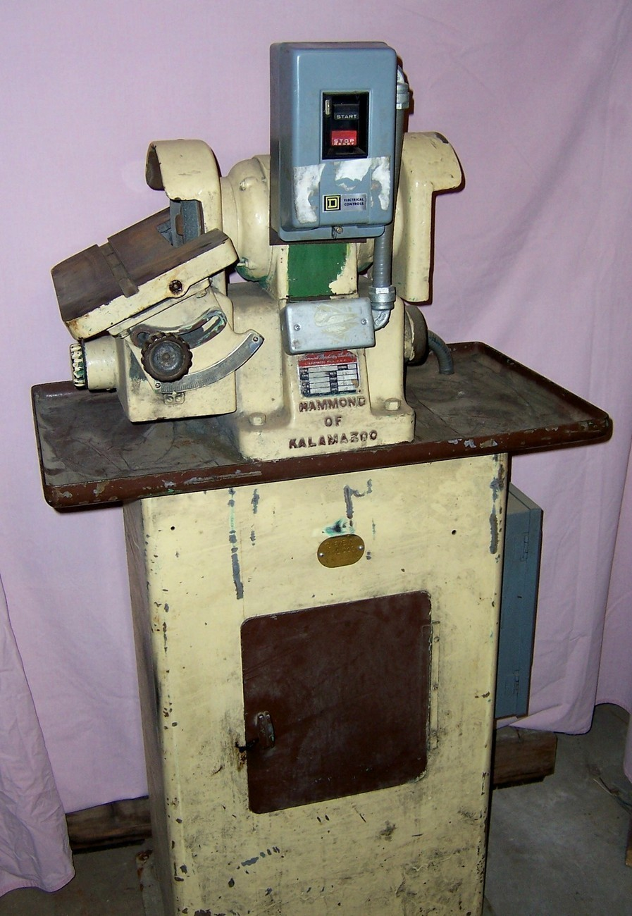Hammond of Kalamazoo Model 7 Tool Grinder