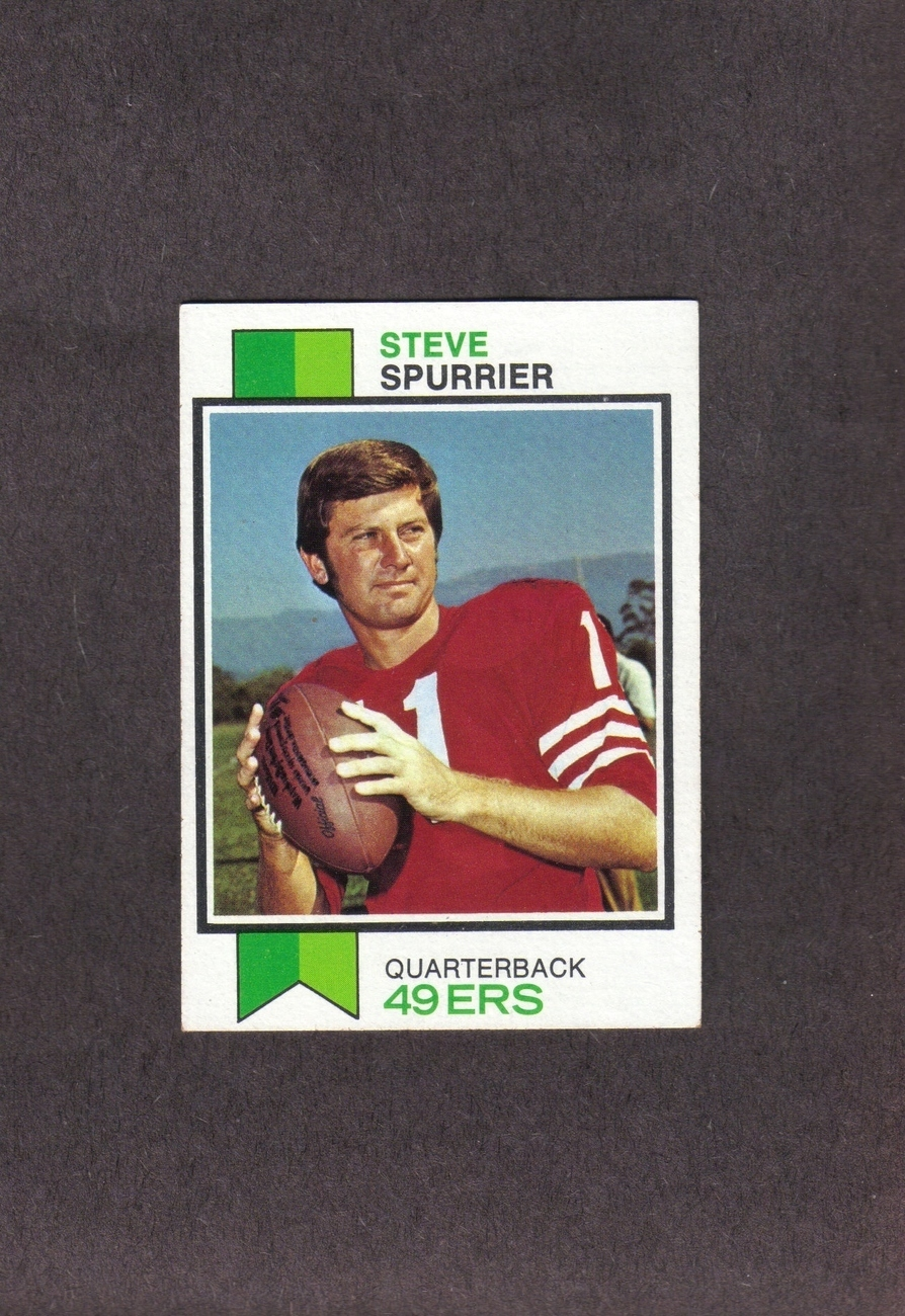 1973 Topps # 481 Steve Spurrier San Francisco 49ers