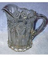 EAPG Old Vintage Press Pattern Glass Heavy Wate... - $29.95