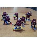 RARE Lot of 7 Vintage California Raisins PVC Fi... - $9.99