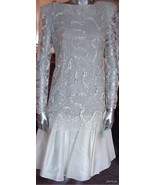 Vintage Ricki Lang for Nuit Wedding Cocktail Dr... - $39.95