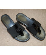 Cole Haan Nike Air Donna Sandal Slide Thong Bla... - $25.00