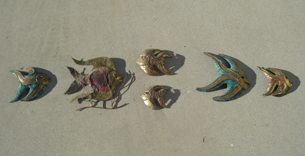 Fishmetalsculptures1