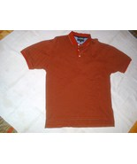 Mens Tommy Hilfiger Golf Polo Shirt Red & Gray ... - $10.99