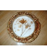 Vintage Dried Flowers Mounted Under Glass Gilt ... - $9.99