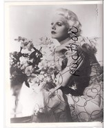 Jean Harlow Portrait Vintage Photo Glamor - $9.99