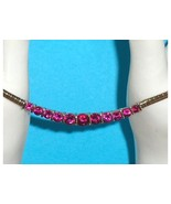 Technibond Created Ruby or Pink Sapphire Omega ... - $97.00