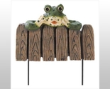 Buy Frog Mini Garden Fence