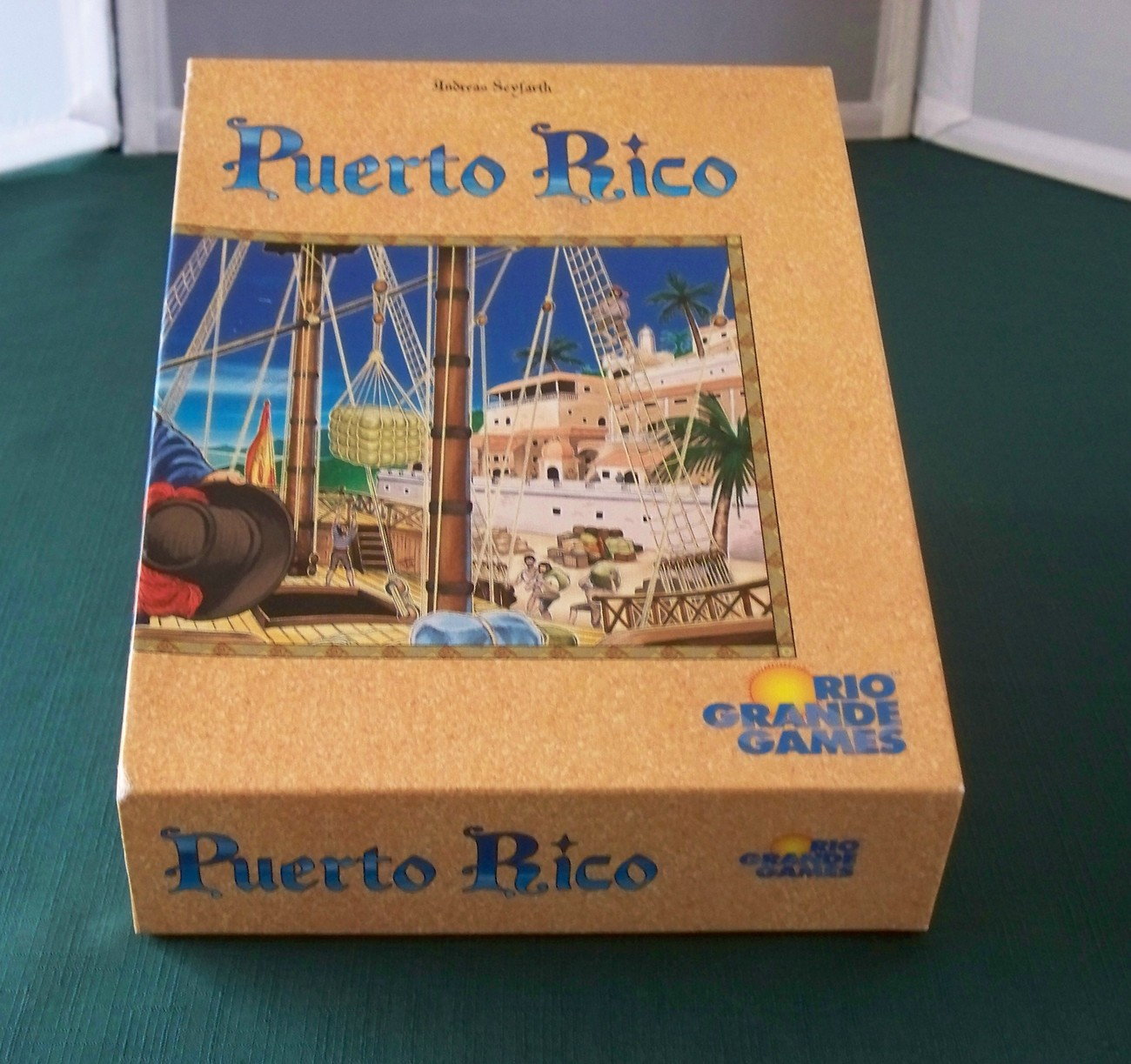 Buy Rio Grande Games - Puerto Rico Game Rio Grande Games Lightly Played Complete VGC