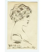Beautiful Ink Drawing by HOWARD CHANDLER CHRIST... - $165.00
