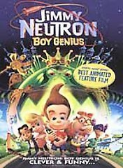 Jimmy Neutron: Boy Genius (DVD, 2002)