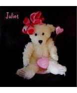 Wax Dipped Plush Heart Bear Flameless Scented A... - $20.00