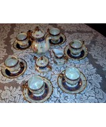 Lusterware Tea Set Seyei Fine China SEY34 Japan... - $399.00