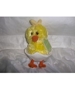 Chick In Egg Plush Stuffed Animal New With Tags - $3.99