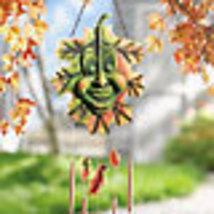 Image 1 of Autumn Leaf  Wind  Chime Dangler