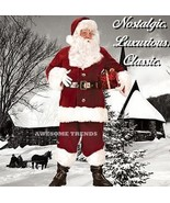 RETRO! L VELVET Suit PROFESSIONAL Santa Claus  - $253.99