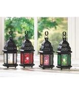 4 Moroccan Lanterns Multi-Color - $34.00