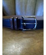 Tommy Bahama Men's Belt, Deerhunter, Black & Br... - $70.00
