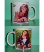 Megan Fox 2 Photo Designer Collectible Mug 02 - $14.95