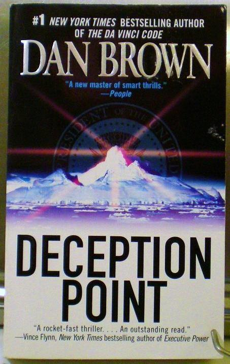an analysis of the deception point by dan brown Deception point | deception | deception tv show | deception pdf | deception bytes | deception bay | deception pass state park | deception abc | deception walkth.