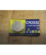 CR2032 LITHIUM BUTTON CELL BATTERY - $3.00