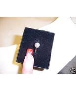 Nadri Crystal Ring QVC Eliot Danori Size 4  - $29.97