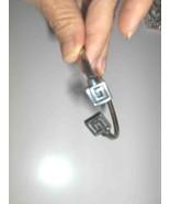 Sterling Silver Flexible Greek Key Bracelet - $45.97