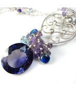 Purple Midnight Necklace - Alexandrite, Gemston... - $246.00