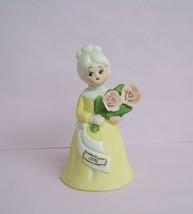 Vintage June Lady Figurine Bell Japan FREE SHIP... - $11.99