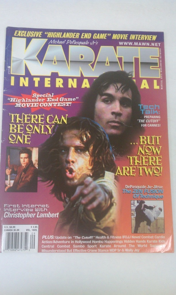 Karate International Magazine Christopher Lambert Vol.10 #9