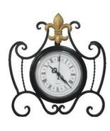 DDI Desk Clock fleur de lis design Case Pack 4 - $119.76