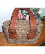 COACH Soho Signature Satchel Carryall 12310 $328 Brown