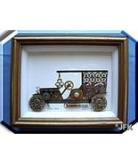 Shadowbox Opel 1909 Artist signed England Europ... - $45.00