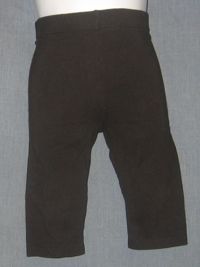 Girls Size 12M 12 Month Black Stretch Pants