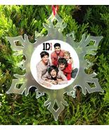 ONE DIRECTION CHRISTMAS ORNAMENT -  X-MAS -  1 DIRECTION - $10.99