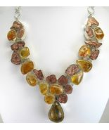 Natural Nuggets of Copper with Ethiopian Opal C... - $381.12