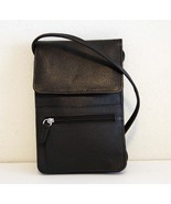 NEW SOFT LEATHER UNISEX WALLET ON THE STRING, S... - $33.99