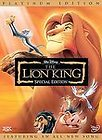 The Lion King DVD, 2003, 2 Disc Set, Platinum Edition