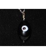 Black Eye Watcher Pendant - Unique Glass Jewelr... - $3.50
