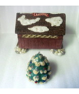 Dickensvale Porcelain Covered Bridge House of L... - $9.99