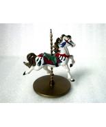 Snow Christmas Carousel Horse Series 1989 Hallm... - $9.99