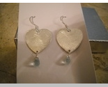 Buy Sterling silver aquamarine briolette earrings