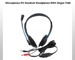 Buy Headphone Microphone Headset For PC Computer Skype