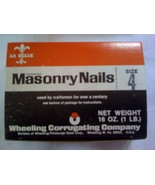 1 lb. Hardened Masonry Nails 1.5
